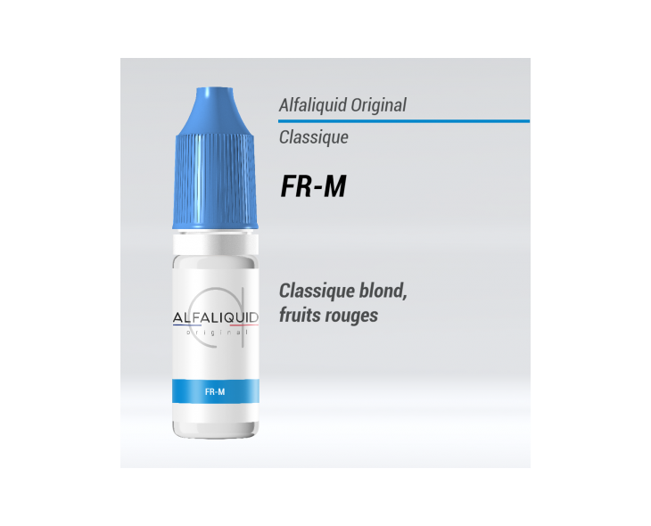E-liquide FR-M Alfaliquid | Création Vap