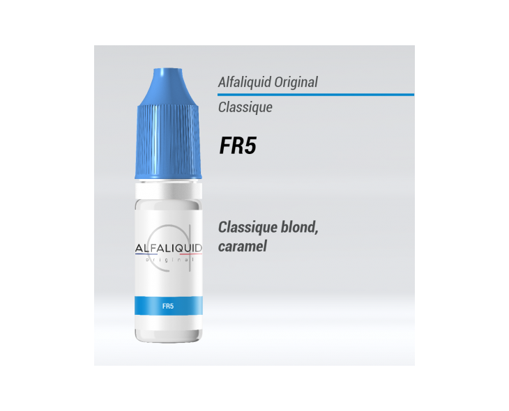 E-liquide FR5 Alfaliquid   Création Vap