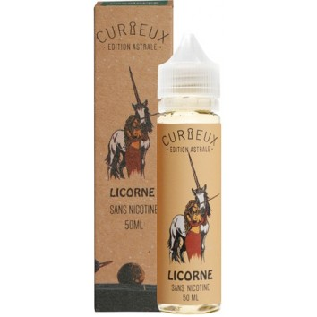E-liquide Licorne Curieux Astrale 50 Ml