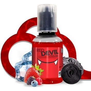 E-liquide Red devil 20 Ml -30 Ml 0 Mg
