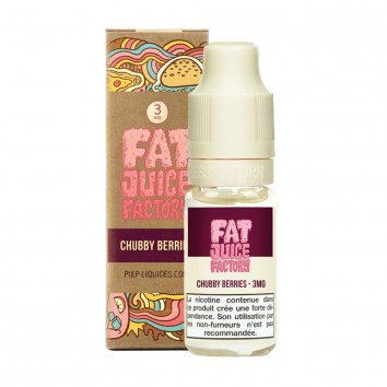 Chubby Berries 10 ML Fat Juice Factory