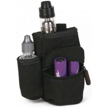 sacoche de rangement pour cigarette electronique noir