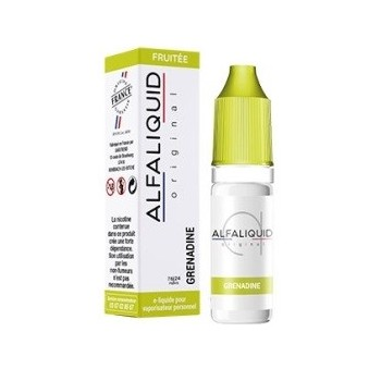 E-liquide Grenadine Alfaliquid | Création Vap