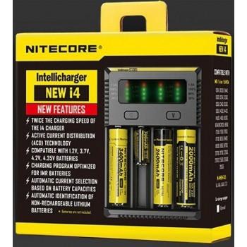 Chargeur Batteries et Accus Nitecore NEW i4 | Création Vap