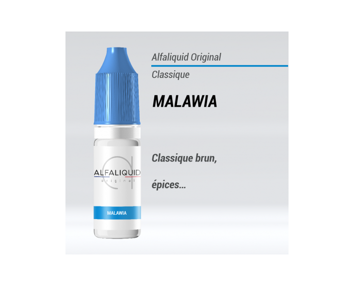 e liquide classique malawia Alfaliquid
