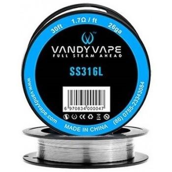 Fil résistif SS316 Vandy Vape | Création Vap