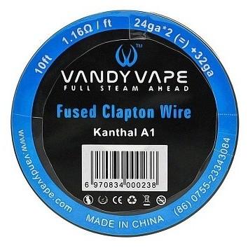 Vandy Vape Fused Clapton Kanthal A1