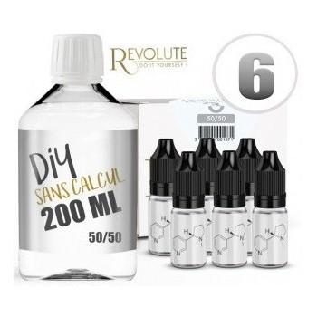 Diy Revolute nicotiné base 200 Ml | Création Vap