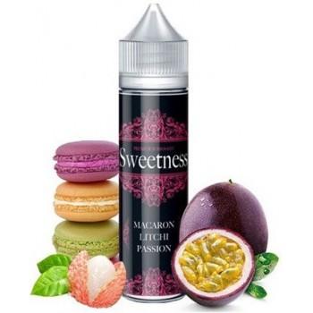 E-liquide Sweetness 50 Ml Macaron Litchi Passion | Création Vap