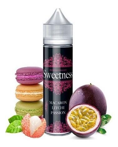 E-liquide Sweetness 50 Ml Macaron Litchi Passion
