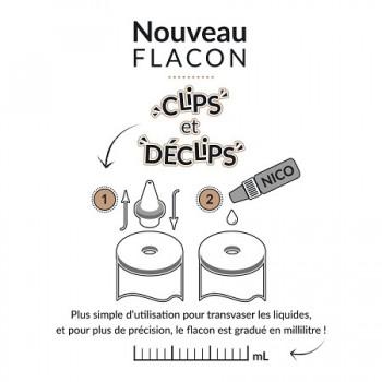 Flacons Gradués Clips Déclips | Création Vap