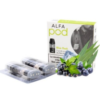 Blue Flash Recharge De 2 Pods Alfaliquid