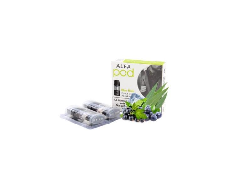 Blue Flash recharge Alfapod | Création Vap
