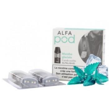 Menthe Glaciale recharge Alfapod | Création Vap
