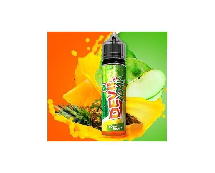 E-Liquide Pomme Ananas 50 Ml Devil Squiz Avap | Création Vap
