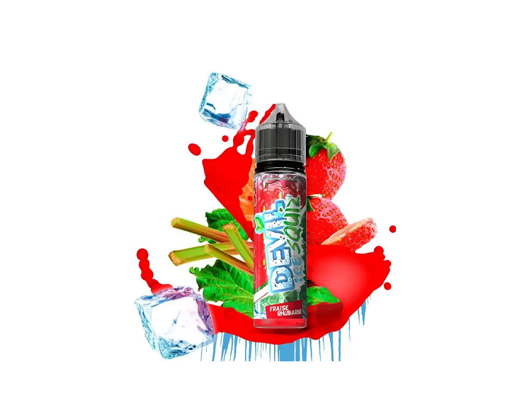 E-Liquide Fraise Rhubarbe Devil Ice Squiz Avap | Création Vap