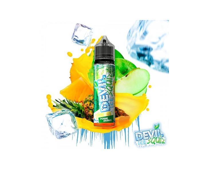 E-Liquide Pomme Ananas Devil Ice Squiz Avap | Création Vap