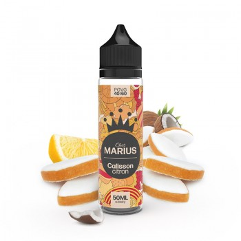 E-Liquide Calisson Citron Chez Marius E.Tasty 50 Ml