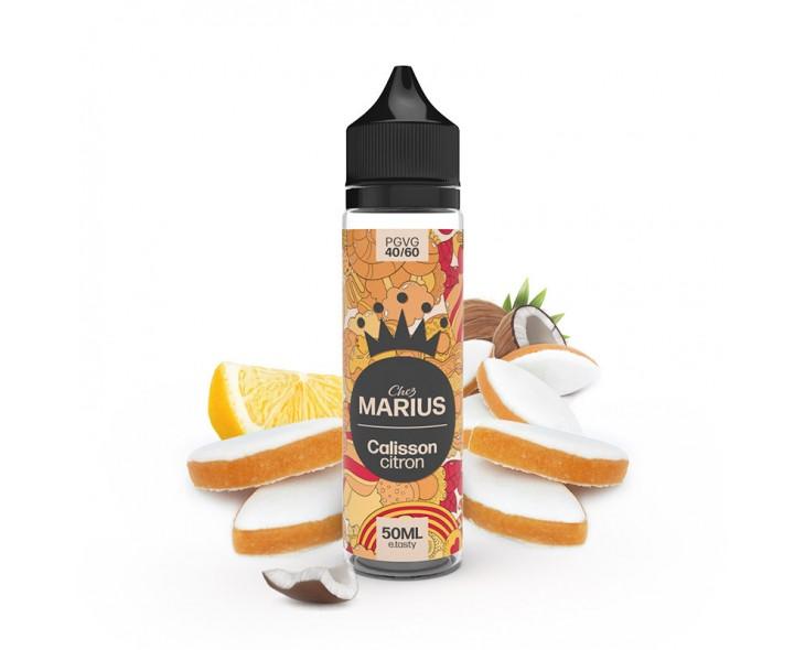 E-Liquide Calisson Citron Chez Marius E.Tasty 50 Ml | Création Vap