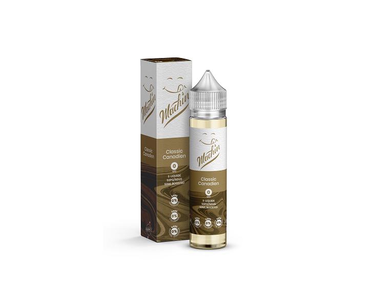 E-Liquide Classic Canadien 50 Ml Machin Savourea | Création Vap