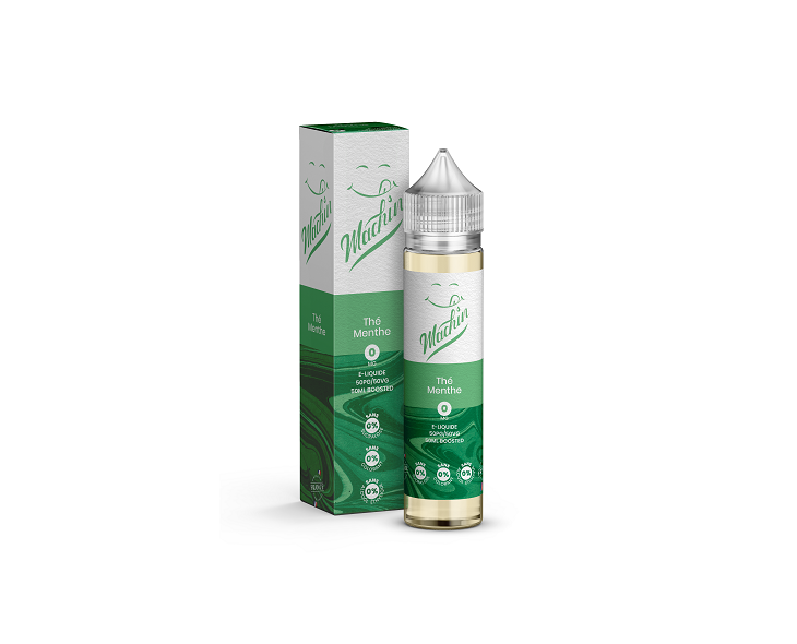 E-Liquide Thé Menthe 50 Ml Machin Savourea | Création Vap