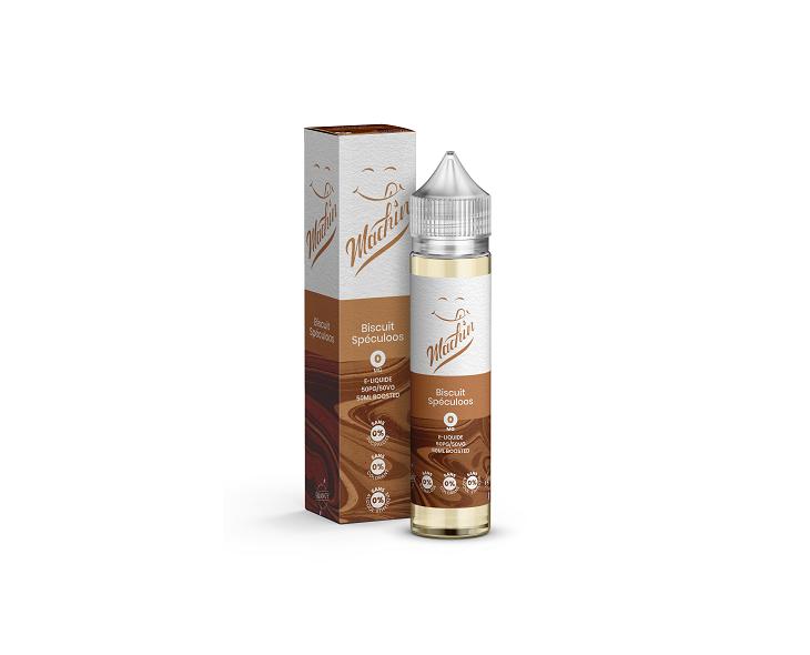 E-Liquide Biscuit Speculoos 50 Ml Machin Savourea | Création Vap