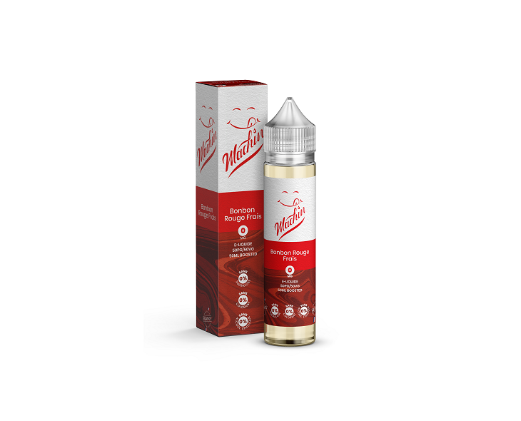 E-Liquide Bonbons Rouges Frais 50 Ml Machin Savourea | Création Vap