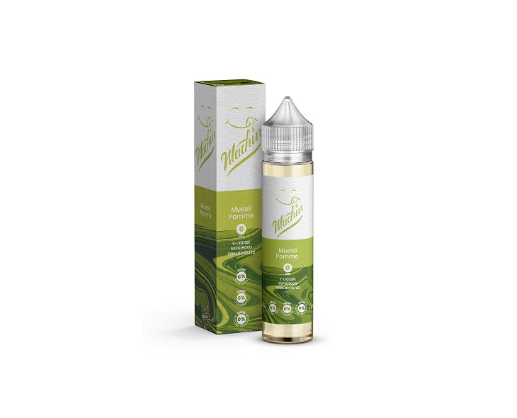 E-Liquide Muesli Pomme 50 Ml Machin Savourea | Création Vap