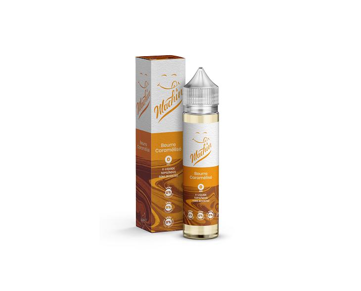 E-Liquide Beurre Caramélisé 50 Ml Machin Savourea | Création Vap