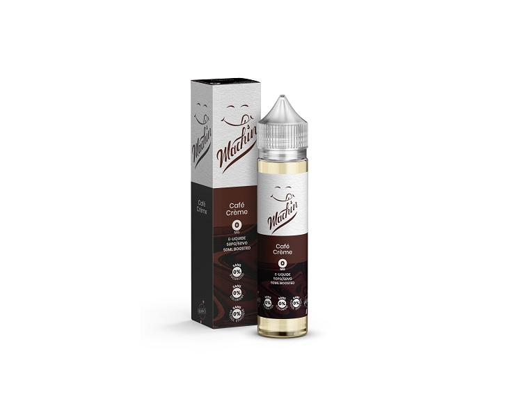 E-Liquide Café Crème 50 Ml Machin Savourea