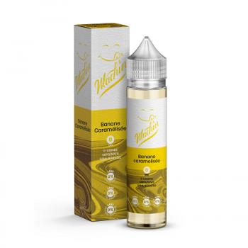 E-Liquide Banane Caramélisée 50 Ml Machin Savourea | Création Vap