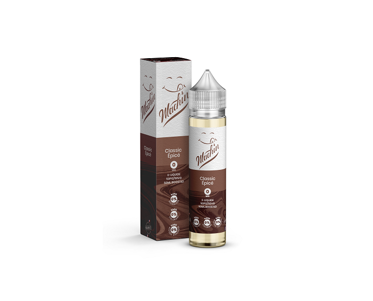 E-Liquide Classic Épicé 50 Ml Machin Savourea | Création Vap