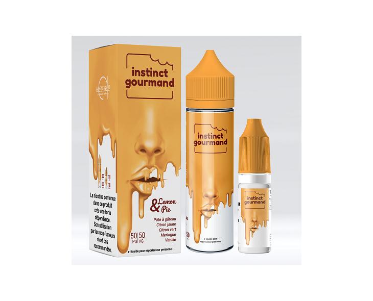 E-Liquide Lemon & Pie Instinct 60 Ml Gourmand Alfaliquid | Création Vap