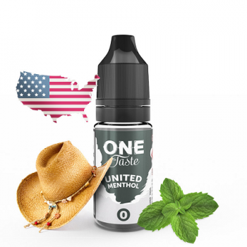 E-Liquide United Menthol One Taste E.Tasty