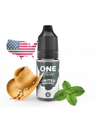 E-Liquide United Menthol One Taste E.Tasty | Création Vap