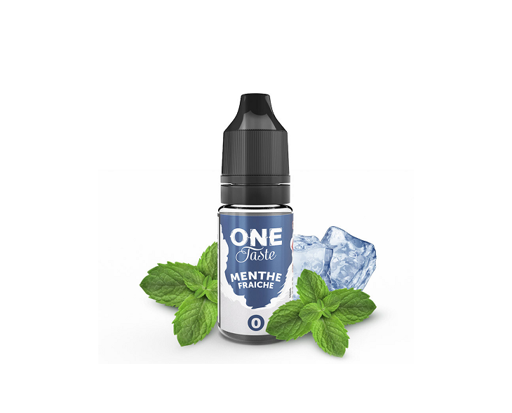 E-Liquide Menthe Fraîche One Taste E.Tasty | Création Vap