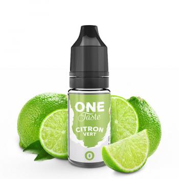 E-Liquide Citron Vert One Taste E.Tasty | Création Vap