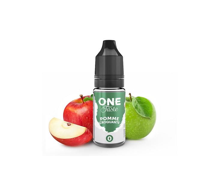 E-Liquide Pomme Croquante One Taste E.Tasty | Création Vap