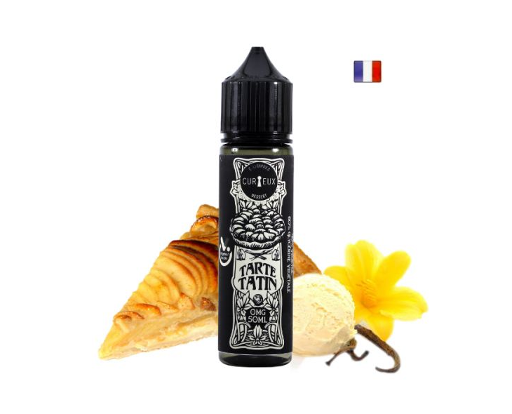 E-Liquide Tarte Tatin Curieux Dessert 50 Ml | Création Vap