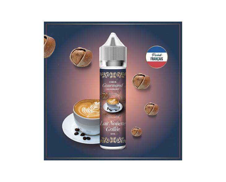 E-Liquide Lait Noisette Grillée Coeur Gourmand Grand Réserve | Création Vap