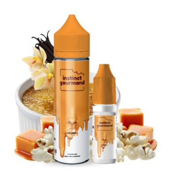 E-Liquide Vanilla & Popcorn 60 Ml 3 Mg Instinct Gourmand Alfaliquid