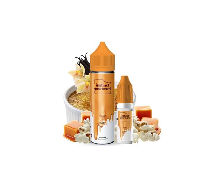 E-Liquide Vanilla & Popcorn 60 Ml Instinct Gourmand Alfaliquid | Création Vap