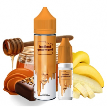 E-Liquide Honey & Milk 60 Ml 6 Mg Instinct Gourmand Alfaliquid