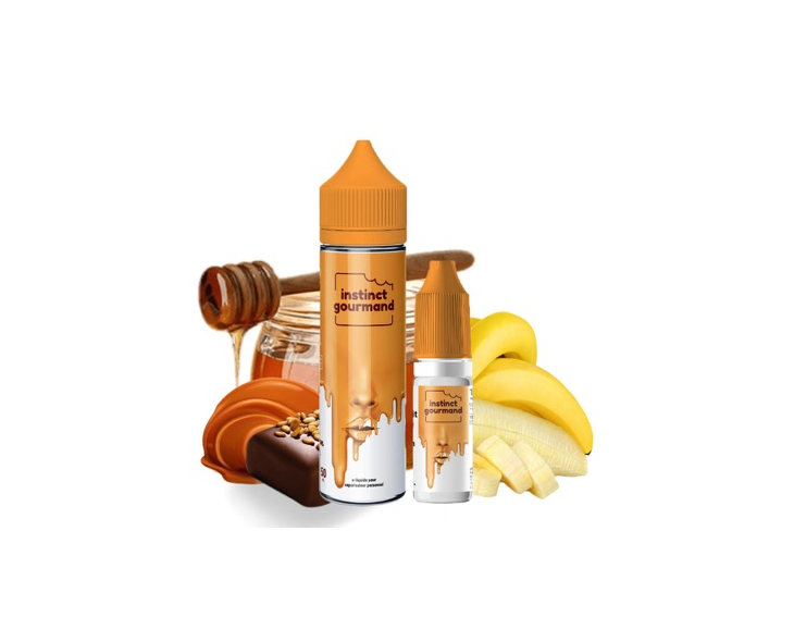 E-Liquide Honey & Milk 60 Ml Instinct Gourmand Alfaliquid | Création Vap