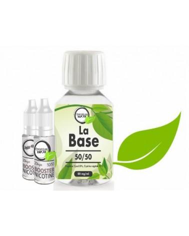 Pack De Base Nicotiné Creation Vap 100 Ml 4 MG