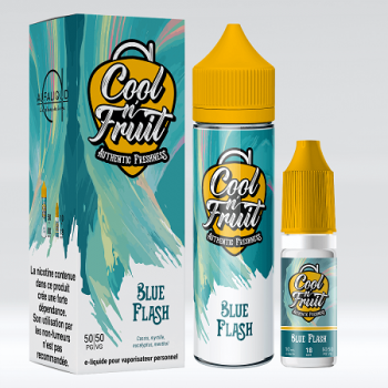 E-Liquide Blue Flash 60 Ml Cool N'Fruit Alfaliquid | Création Vap