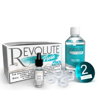 Kit De Base Nicotiné Fresh 100 Ml 50/50 Revolute | Création Vap