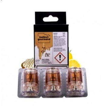 Cartouche Slym Aspire Lemon & Pie Instinc Gourmand Alfaliquid