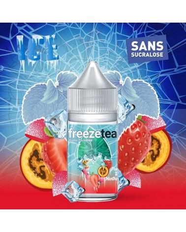 Concentré Fraise Tagada Freeze Tea Ice Made In Vape | Création Vap