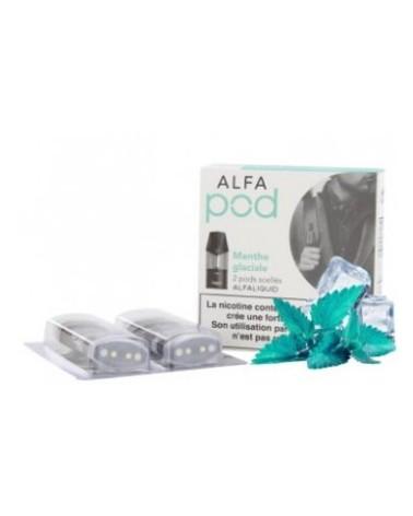 Recharge Alfapod Menthe Glaciale Alfaliquid | Création Vap
